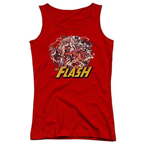 Justice League-Canottiera ragazzi Flash famiglia rosso rosso