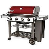 Barbacoa de gas Weber® Genesis II E-410rojo, incluye Plancha de grill Genesis II