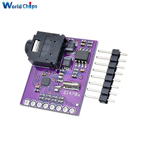 UKW-Tuner Si4703 RDS RBDS Funkübertragung Digital AVR ARM PIC mit Pin