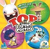 Buzzy Games- Top Lapins Crétins Jeu de Societe, BUZ007TO, Multicolore