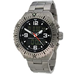 Momentum Herren-Armbanduhr XL FORMAT 4 Analog - Digital Quarz Titan 1M-SP24B0