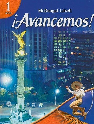 Avancemos: Level 1 by MCDOUGAL LITTEL (2006) Hardcover (Avancemos 1)