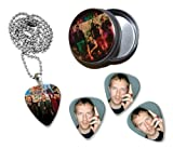 Coldplay Collection With 3 Double Sided Loose Guitar Médiators Picks and Collier in Tin
