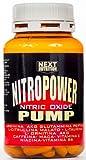 Next Nutrition 1 Packs Nitro Power Pump 120 tablets stimulant nitric oxide, GH, By: akg arginine, glutamine peptide, citrulline, taurine, ornithine AKG, Vitamin C, Caffeine, Maca, Vitamin E, Niacin, Vitamin B6