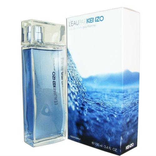 Kenzo L'eau par Kenzo pour Homme Eau de Toilette Vaporisateur/Natural Spray 100 ml -