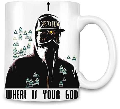 ZEUS Thug Where Is Your God Kaffee Becher (Thug-kaffee-tasse)