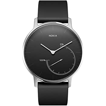 Withings Steel Reloj, Electronica, Negro/Silver, 0
