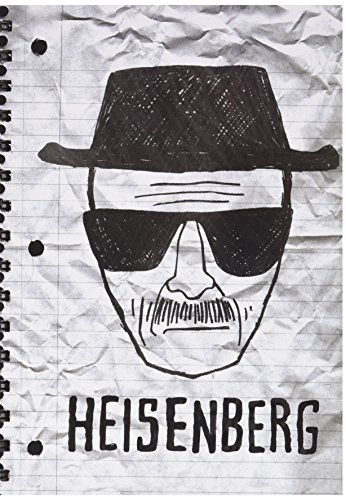 Breaking Bad - Heisenberg A5 Notebook.