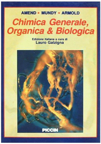 Chimica generale, organica e biologica por John R. Amend