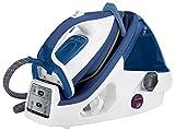 Calor GV8931C0 Centrale Vapeur haute pression 6,5 bars illimitée chauffe rapide collecteur anti calcaire 3 réglages automatiques Bleu 2400 W