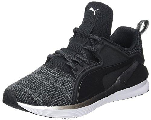 info for 70789 a332b Puma Fierce Lace Knit Wn s, Chaussures de Fitness Femme, Noir Black White  01,
