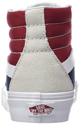 Vans Unisex-Erwachsene Sk8-Hi Reissue Hohe Sneaker Mehrfarbig (Retro Block)