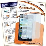 2x mumbi Displayschutzfolie Samsung Galaxy S2 Plus Schutzfolie AntiReflex antireflektierend - NICHT S2 ohne PLUS