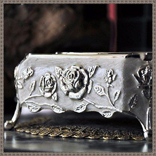 LppkzqMoon dipinta in stile Europeo elegante lusso creative metallurgia Posacenere per sigari di décor domestico del