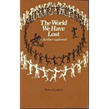 The World We Have Lost by Peter Laslett (1983-12-15)