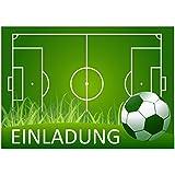 11 (+ 1 Karte gratis) Fussball-Einladungskarten zur Fussball-Party, Grillparty oder zum Kindergeburtstag von ArtUp
