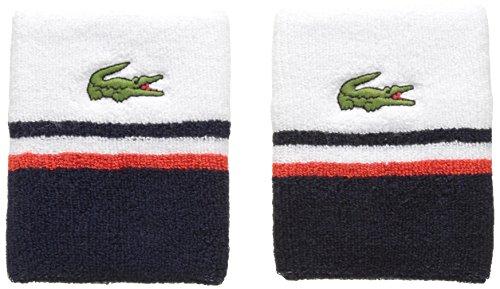 Lacoste Herren Stirnband Rl1850 mehrfarbig (Blanc/Marine-Etna)