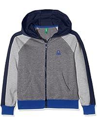 Benetton Jacket W/Hood L/S, Blouson Garçon
