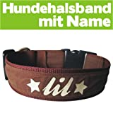 Special-Petshop Hundehalsband mit Name (45-50cm)
