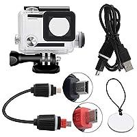 GoPro Hero 3-4 Uyumlu USB Girişli Motosiklet Housing