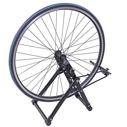 Febelle Soporte para Alineación de Ruedas para Bicicletas Caballete de Ruedas Reparador de Neumáticos...