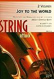 Joy To The World. 38 Advents- und Weihnachtslieder mit Liedtexten für 2 Violinen (Spielpartitur)
