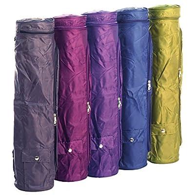 Yogatasche ASANA BAG 60, mit Außentaschen, spritzwasserfest, Yogamattentasche für Matten mit 60cm Breite