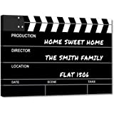 """Nutcase Filmy Homes Film Personalized Name Plate with Screws Included- 12""""x8"""""""