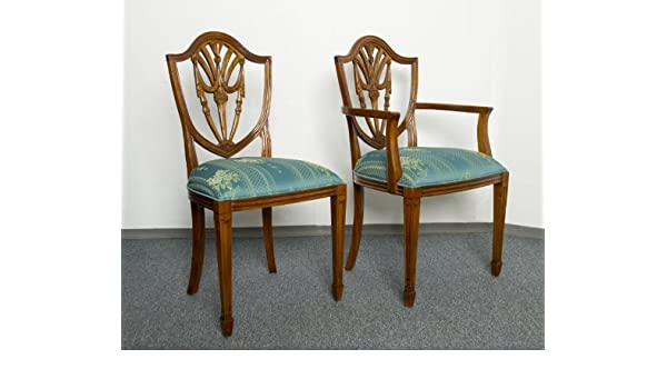 Warhouse Berlin Store 6 Chairs Mahogany Prince Of Wales Dining