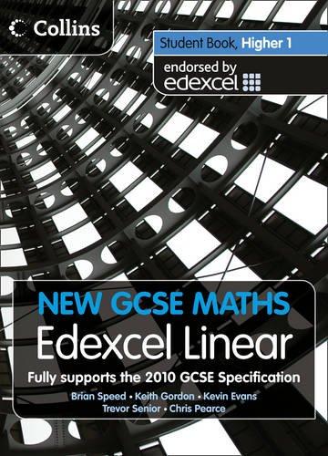 New GCSE Maths – Student Book Higher 1: Edexcel Linear (A)