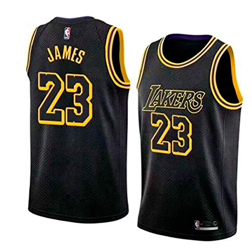 9ffb33934 Zhao Xuan Trade Los Angeles Lakers Lebron James Baloncesto Masculino Cosido  Transpirable   23 Sport Swingman