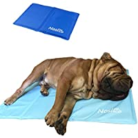 Nosli Kühlmatte Kühldecke Kühlkissen selbstkühlende Decke für Hunde/Sea blue XL