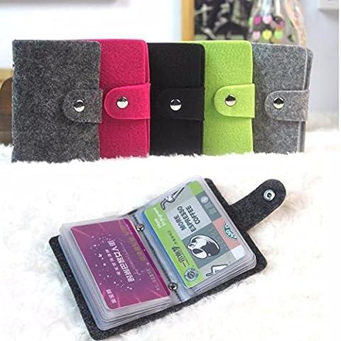 Vintage Women Men Pouch ID Credit Card Wallet Holder Organiseur Cash Box Pocket Coque Case
