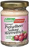 Produkt-Bild: Scandia Pepparrot Preiselbeer-Sahne-Meerrettich, 6er Pack (6 x 80 g)