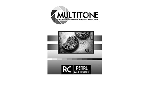 8x10 100 Sheets Inkpress MultiTone Black /& White Resin Coated BW Pearl Luster Darkroom Photographic Paper