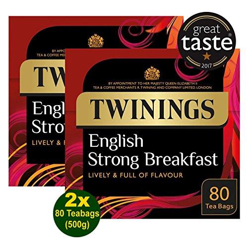 Twinings English Strong Breakfast 1706 2x 250g 160 Btl. (500g) - SchwarzerTee