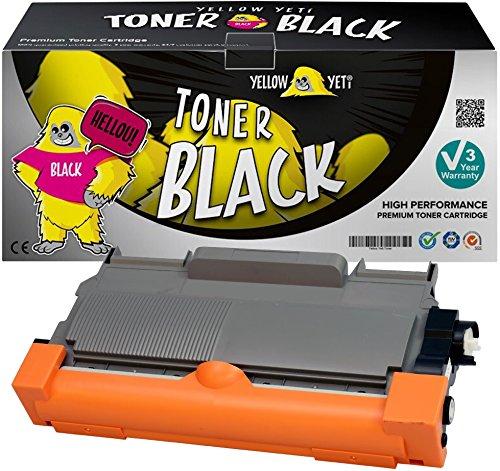 Yellow Yeti TN2220 TN2010 (2600 pagine) Toner compatibile per Brother HL-2220 HL-2240 HL-2130 HL-2132 HL-2135W HL-2230 HL-2250DN HL-2270DW DCP-7055 DCP-7060 DCP-7065 DCP-7070 [3 Anni di Garanzia]