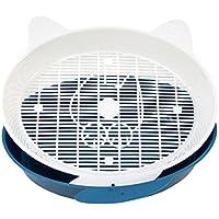 Cat Toilet Training Kit Caja De Arena Plástico Verde Azul,Blue