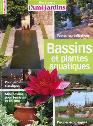 Bassins et plantes aquatiques