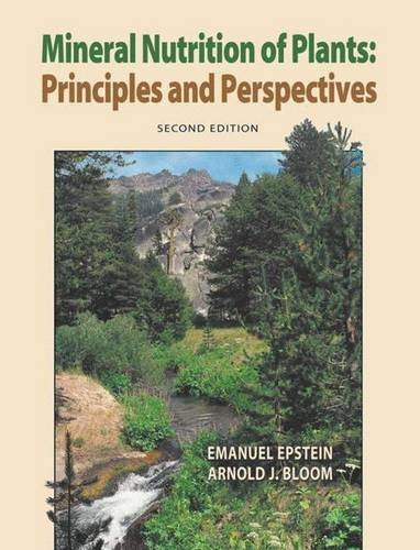 Mineral Nutrition of Plants: Principles and Perspectives by Emanuel Epstein (2004-08-01)