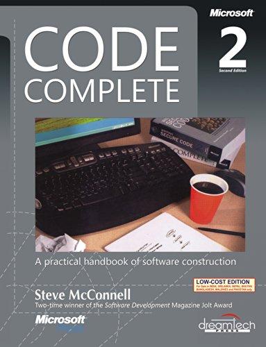 Code Complete, 2ed (Microsoft Press)