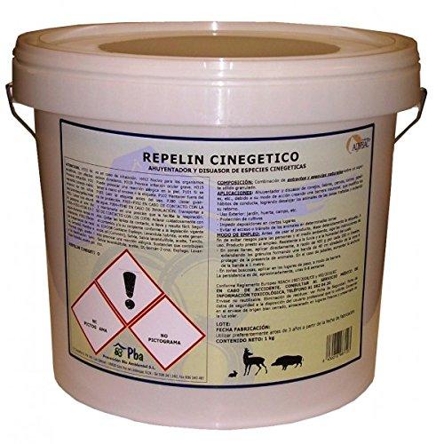 Repelin cinegético granulés pour lapins, cerfs, jabalíes et autres 1 kg