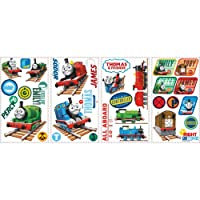 RoomMates RMK1831SCS Thomas and Friends Wall Stickers, Multi-Colour, 12.5 x 2.2 x 26.5 cm