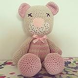 Peluche, Pupazzo, bambola, La dolce Orsetta AMIGURUMI uncinetto...per bambini e neonati … …