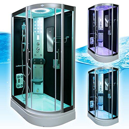 AcquaVapore DTP8060-7302R Dusche Dampfdusche Duschtempel Duschkabine 80x120, EasyClean Versiegelung der Scheiben:2K Scheiben Versiegelung +89.-EUR - 4