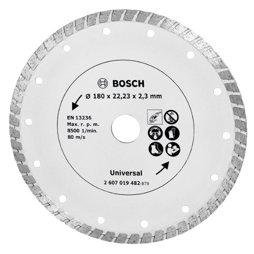 Bosch Diamanttrennscheibe Turbo, 180 mm, 2607019482