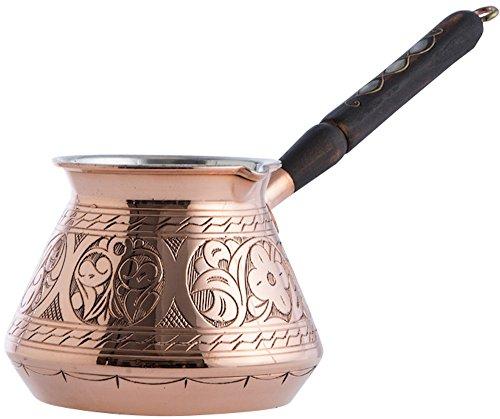 copperbull dicksten gehämmertes Kupfer Türkische Griechischen Arabische Kaffeekanne Herd...