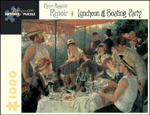 Pierre-Auguste Renoir: Luncheon of the Boating Party (Pomegranate Artpiece Puzzle)
