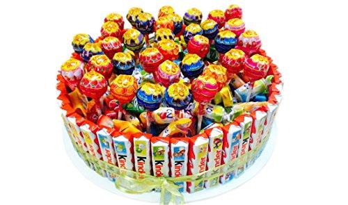 IRPot - Torta barrette Kinder e lecca lecca Chupa Chups - kit fai da te KITK07