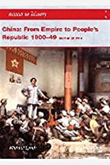 Access to History: China: from Empire to People's Republic 1900-49 Second Edition Paperback